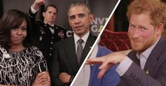 Michelle And Barack Go Head To Head With The British Royal Family To Support Wounded Veterans   [.READ.MORE.]