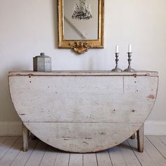 Vintage French DropLeaf Table