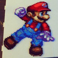 Super Mario perler beads by sweetcaeks
