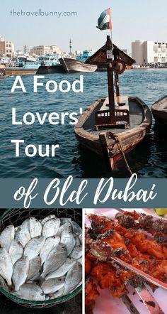 A food lover's tour of old Dubai to discover the history and culture of Dubai's food - Reisen, sehen, essen Walt Disney World, Dubai Things To Do, Dubai Travel Guide, Dubai Vacation, Dubai Food, Visit Dubai, Travel Guides, Travel Tips, Travel