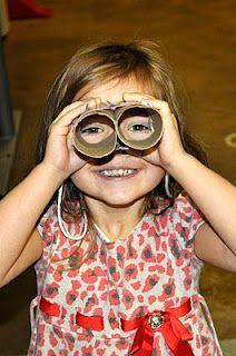 Binocular Craft for Birdwatching - Kids Activities