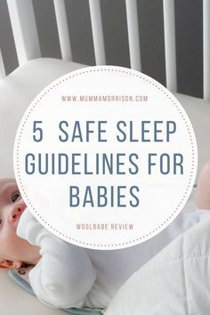 5 Safe Sleep Guidelines for Babies