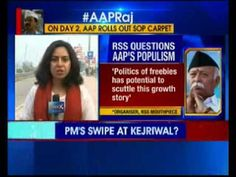 """After the RSS leadership criticising the Bharatiya Janata Party for its rout in Delhi assembly election, now it's mouthpiece Organiser criticises BJP and question on the way, AAP's promises for Delhi. Providing subsidy in power, wi-fi connectivity in the city and installing CCTV cameras will burden the state exchequer. """""""