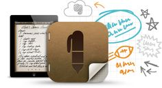 Penultimate. Great note taking app. Made by the Evernote people.