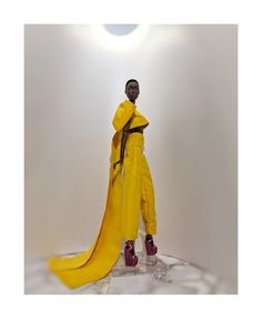"""• PēRPôlītē • doll couture • on Instagram: """"• YELLOW BOW WOW • From our exclusive line COUTURISSIMA, we are proud to present you our """"YELLOW BOW WOW"""". Ankle length wide trousers and…"""" Wide Trousers, Bow Wow, Ankle Length, Bows, Couture, Yellow, Instagram, Arches, Bowties"""