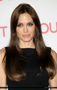 Angelina Jolie - I want this hair color for Fall!