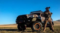 Photo Shoot with @predatorstrikeforce via Instagram sporting our front and rear Expedition One bumpers.