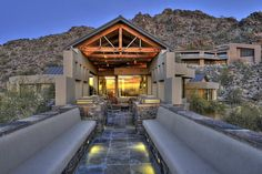Take in the stunning city and mountain views from this luxurious home, perched atop Paradise Valley's Mummy Mountain.