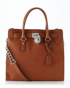 Michael Kors Hamilton Brown Tote Bag $199