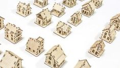 Take a chance to build Your own miniature town with collectible models! There are 20 tiny wooden Houses already designed in ZabavaBox studio. You may find all the constructor kits at http://etsy.me/29JmPAN No glue needed to assembly and made of natural birch plywood. That is 100% eco-friendly and hypoallergenic toys, greatly appropriate for Waldorf school. Children love coloring toys and our tiny unfinished wooden House easy and exciting coach them crafts, instilling a love for handmade