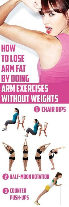 How To Lose Arm Fat By Doing Arm Exercises Without Weights