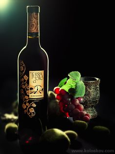 Studio Photography Insights (Alex Koloskov) Bottle of Wine Shot.