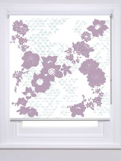 The Geo Fleur Roller Blind Collection has taken this geometric meets floral illustrative from Laura Felicity Design's pattern range, to transform your window areas within your home.  Each window blind pattern has been designed with versatility in mind. Suiting master and spare bedrooms, children's bedroom or playroom, nursery, kitchen, hallway or living room.  Bringing designer style with affordable pricing to any interior décor.  RRP from £135.