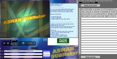 You can create subtitles easy (SUB—MicroDVD format) by using this program. Is a useful and reliable software that helps you to create subtitle files for the selected video.