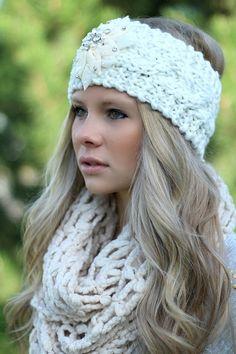 NanaMacs Boutique - Ivory Knitted Embellished Headwrap Headband,  (http://www.nanamacs.com/ivory-knitted-embellished-headwrap-headband/)