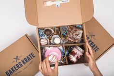 Canada's Favourite Dessert Box! Sending Bakery Fresh Sweets, Straight to your door!