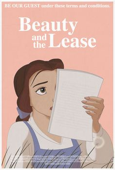If 13 Disney Movies Were Written For Twentysomethings--Beauty and the Lease