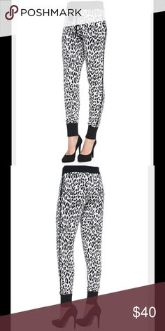 Derek Lam Cashmere Blend Joggers Gorgeous leopard print cashmere-blend pants from Derek Lam 10 Crosby.  Purchased off Posh one night after a big sale and a little Tequila.  Absolutely gorgeous but too swanky for me.  Reposhing. Derek Lam Pants Track Pants & Joggers