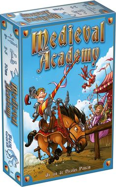*Want!! Medieval Academy Board Game. Loved the YouTube review, went to go buy it and it's ridiculously priced right now. I'll watch for the drop. My girls would love it! It seems like a young persons gateway to being a gamer.