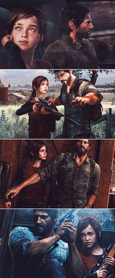 Joel + Ellie: To the edge of the universe and back, endure & survive.