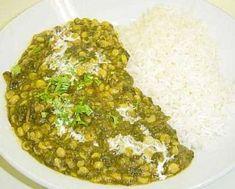 Dal Palak (Lentils & Spinach) Recipe - Pakistani Main Course Vegetarian & Main Course Bean Dish - Fauzia's Pakistani Recipes - The Extraordinary Taste Of Pakistan