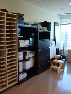 After organizing office work space
