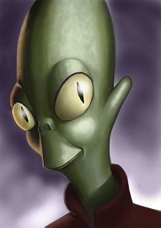 "Portrait of an optimistic  ""Kif Kroker"" by lulu-berlu 