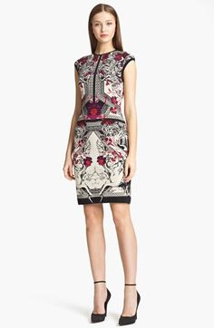 Roberto Cavalli Print Knit Dress available at #Nordstrom