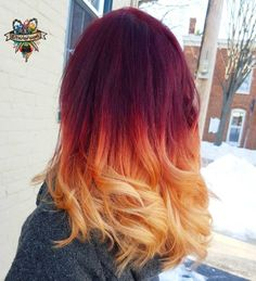 Strawberry Red Hair Color Awesome Dark Strawberry Blonde Hair Color Luxury Rose Gold Regrann From Red Blonde Ombre, Brown Ombre Hair, Ombre Hair Color, Hair Colors, Best Ombre Hair, Strawberry Blonde Hair Color, Blonde Curly Hair, Auburn, Red Hair