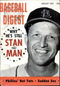 Sports Magazine Covers: Stan Musial