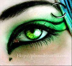 green eyes are sooo beautiful!