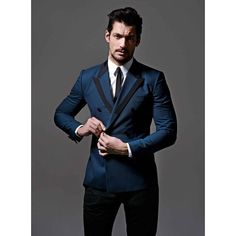 David Gandy by Ram Shergill for GQ Thailand ❤ liked on Polyvore featuring men