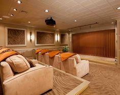 Exemplos De Decorao Home Theaters Em Ambientes