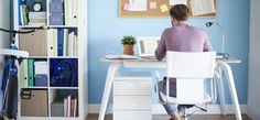 14 Things a Professional Organizer Says You Must Have in Your Home Office Home Office, Small Office, Office Desk, Bamboo Wood Flooring, Tax Deductions, Home Trends, Work From Home Jobs, Good Job, Office Furniture