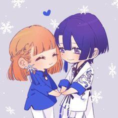 Masato Hijirikawa x Nanami Haruka Anime Couples Drawings, Couple Drawings, Jungkook Fanart, Uta No Prince Sama, Nanami, Manga, Anime Love, Yuri, Fan Art