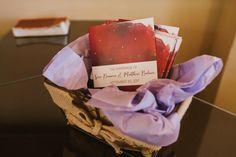 Lauren Baker Print & Design | Wedding Stationery | Star Moon Nightsky Wedding Invitation | Wedding Ceremony Program | Photo by: Iron & Bragg Photography