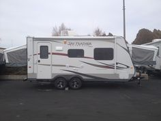 Our new trailer Jayco hybrid 19h, can't wait to go camping!