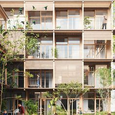 Module Architecture, Social Housing Architecture, Co Housing, Architecture Visualization, La Villette Paris, Habitat Collectif, Modernisme, Modern Architects, Facade Design