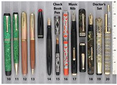 Waterman Continental Overlay Doctor's Set