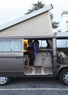Urban Outfitters - Blog - About A Space: Beamer Wilkins' Westfalia Van