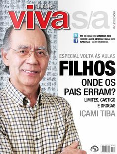 Capa revista Viva S/A - Içami Tiba