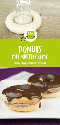 Donuts mit Kaffeecreme – MixGenuss Blog