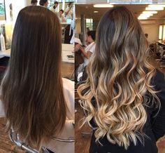 Projeto Along Hair Balayage Hair Blonde, Brown Blonde Hair, Brunette Hair, Boliage Hair, Cabelo Ombre Hair, Hair Highlights, Gorgeous Hair, Beautiful, Hair Looks