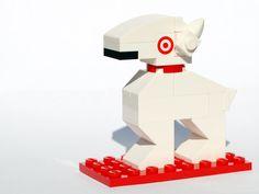"""Lego """"Target"""" dog"""