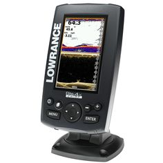 Lowrance Elite-4x CHIRP Fishfinder with 83/200 455/800 Transom Mount Transducer