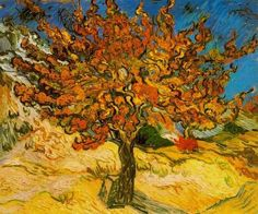 Vincent Vangogh - Mulberry Tree