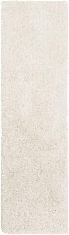 Surya Heaven HEA8000 White Plush Area Rug