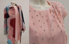 ee1be05162b5 Look Philosophy composto da un delizioso abitino rosa confetto e un  soprabito fantasia per stupire con classe! www.santinopuntomoda.it. Santino  Punto Moda