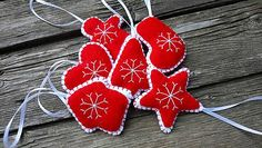 Dadyart / Vianočné ozdoby Christmas Ornaments, Holiday Decor, Home Decor, Xmas Ornaments, Homemade Home Decor, Christmas Jewelry, Christmas Ornament, Interior Design, Christmas Baubles