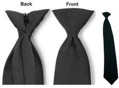 How a necktie clip works..